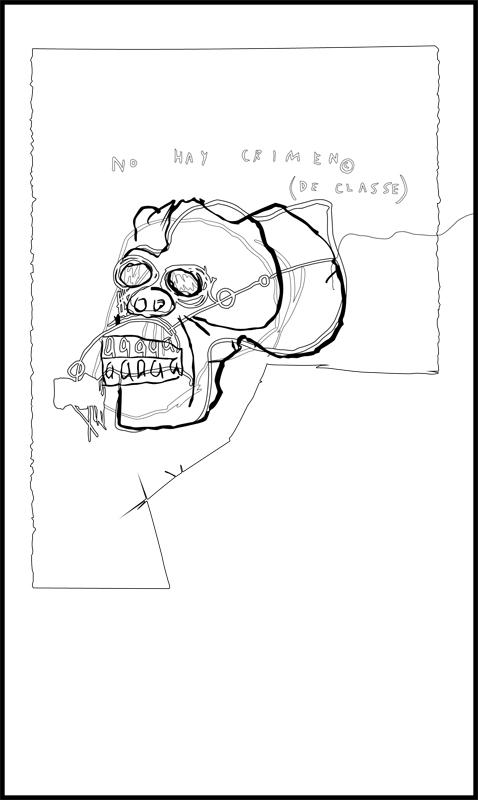 Basquiat Coloring Page