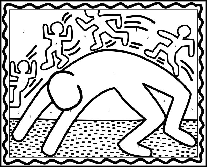 keith haring figure templates - 1000 images about haring on pinterest