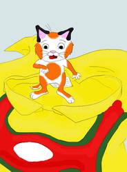 Huckle Cat by DirtyZephyrAssassin