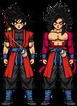SDBH Xeno: Goku SS4