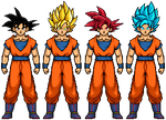 DBS:B Goku Evolution