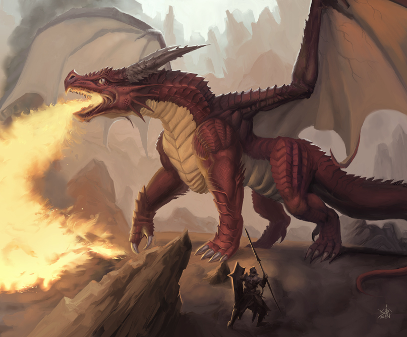 The Red Dragon by Jumpei on DeviantArt Dragon