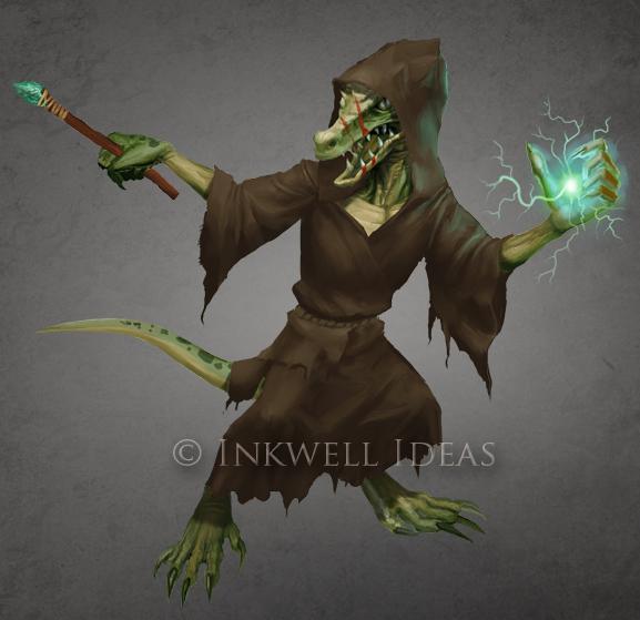 Kobold Sorcerer by Jumpei