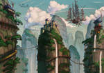 Neoexodus landscapes IV by Jumpei