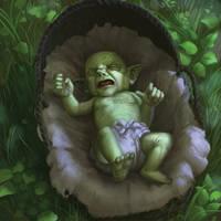 Talisman - 'Goblin Baby' by Jumpei
