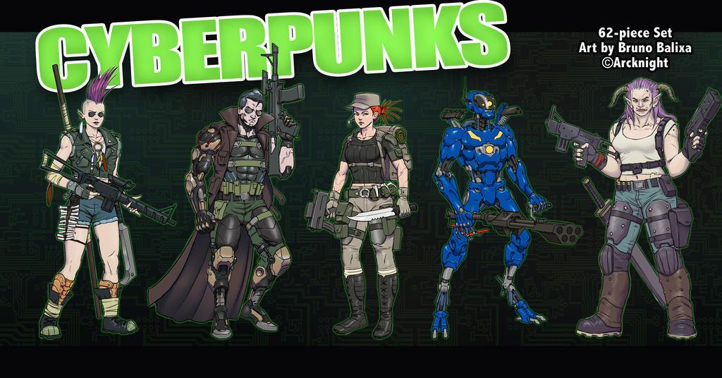 DACyberpunks by Jumpei