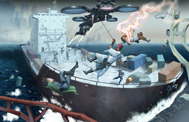 'Abbandon ship' by Jumpei