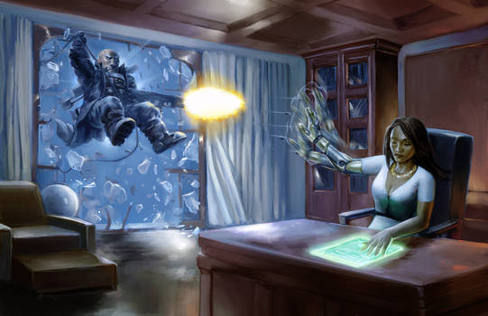 'Sign the line' - Shadowrun - Collapsing Now