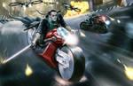 Yakuza - Shadowrun - Collapsing Now by Jumpei