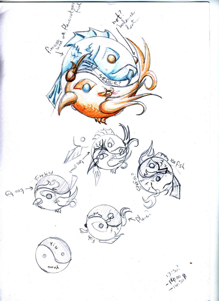 Fire ice tattoo sketch 001 by nautical nieky on deviantart for Fire and ice tattoo shop