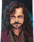 Sirius Black in Gouache