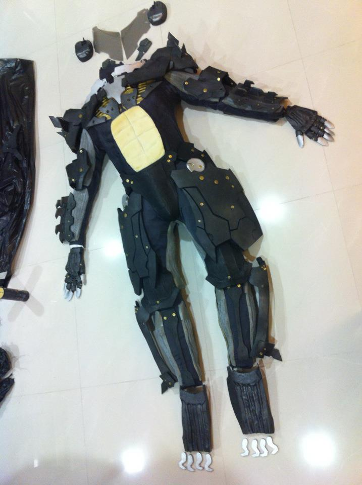 Metal Gear Rising Raiden WIP II by keruuu
