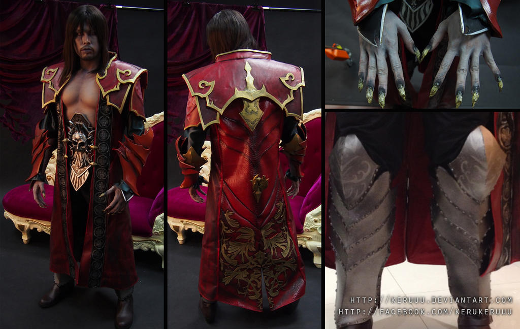 Castlevania: Lords of Shadow 2 Dracula Costume by keruuu