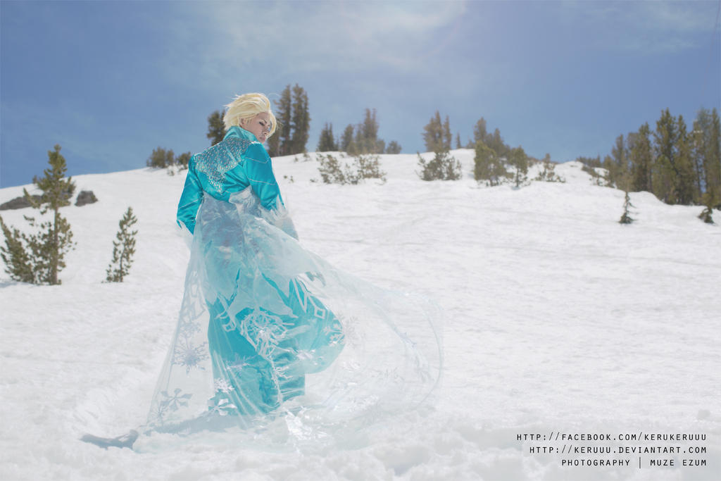 The Cold Never Bothered Me Anyway by keruuu