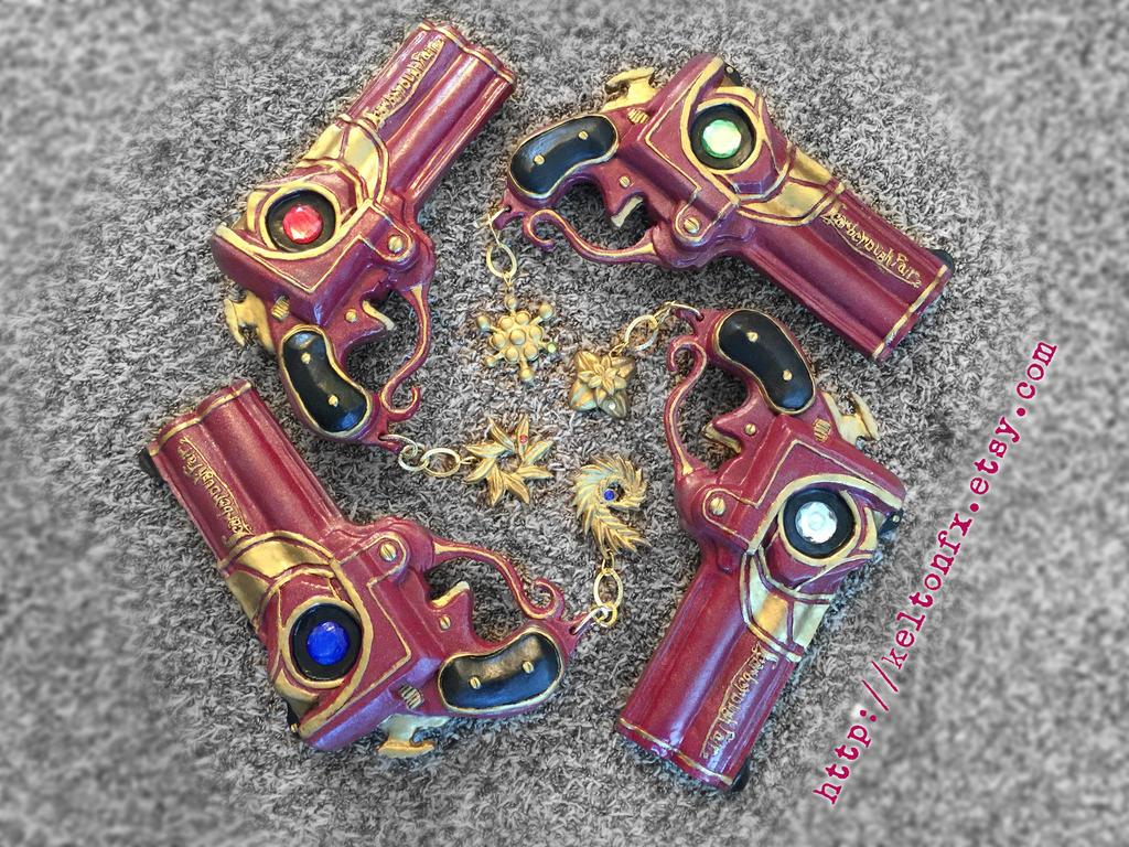 Scarborough Fair (Bayonetta's Guns) by keruuu