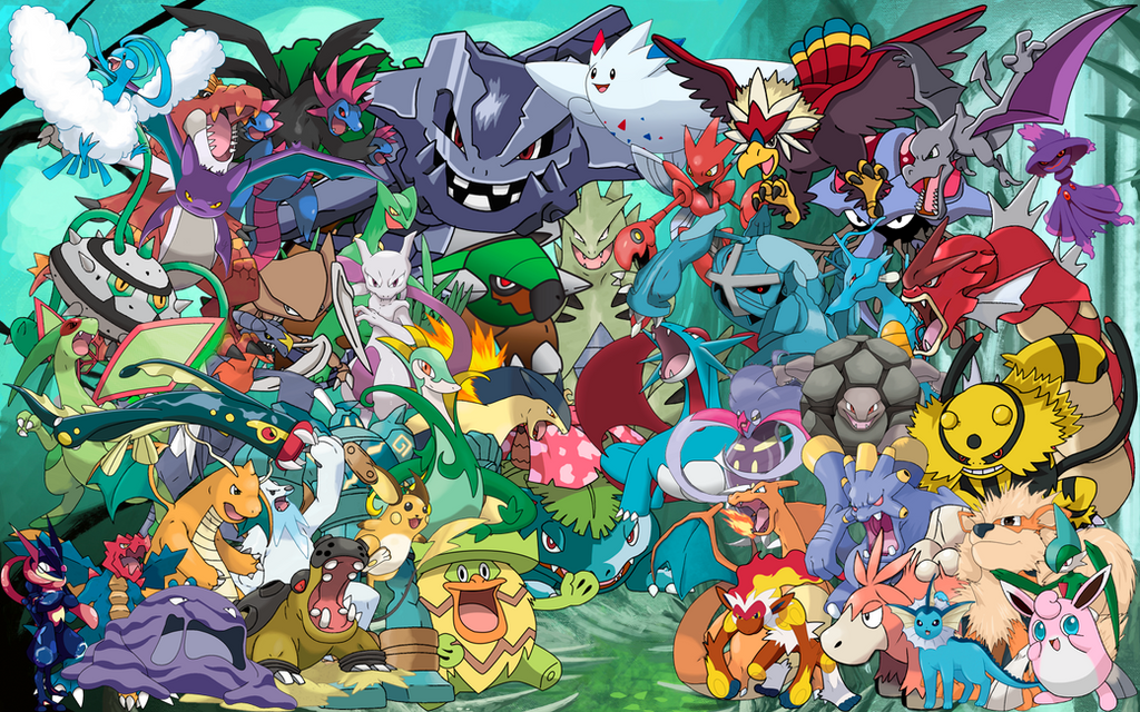 Hall Of Fame Wallpaper: Pokemon Hall Of Fame Wallpaper By SirShorty On DeviantArt