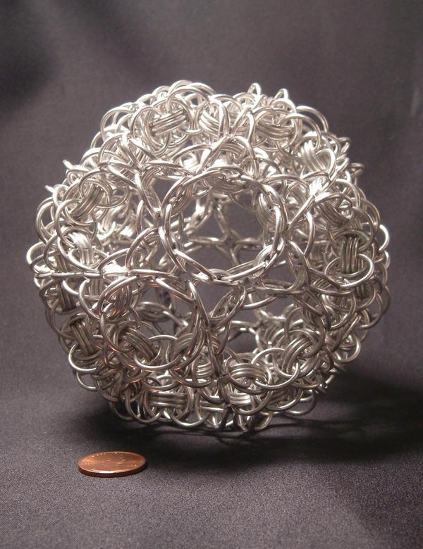 Truncated Icosahedron by BorosilicateArachnid