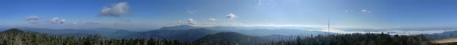 Clingman's Dome- 360 degrees