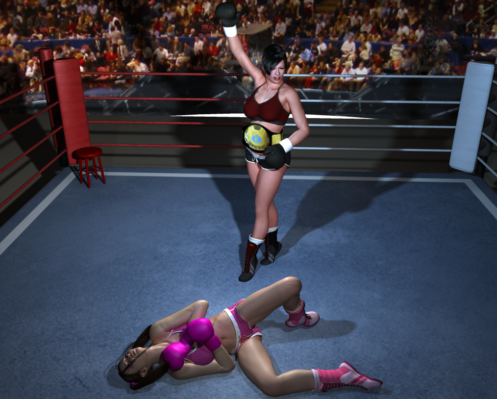 boxing knockout punch wallpaper