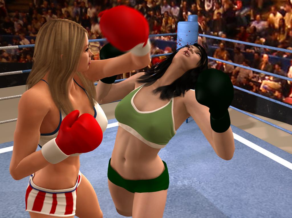 Bikini boxing knocked out knockout — img 8