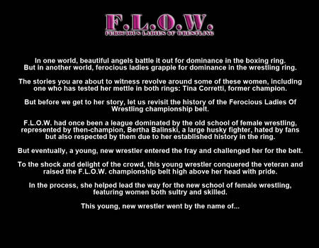 00 The History of F.L.O.W.