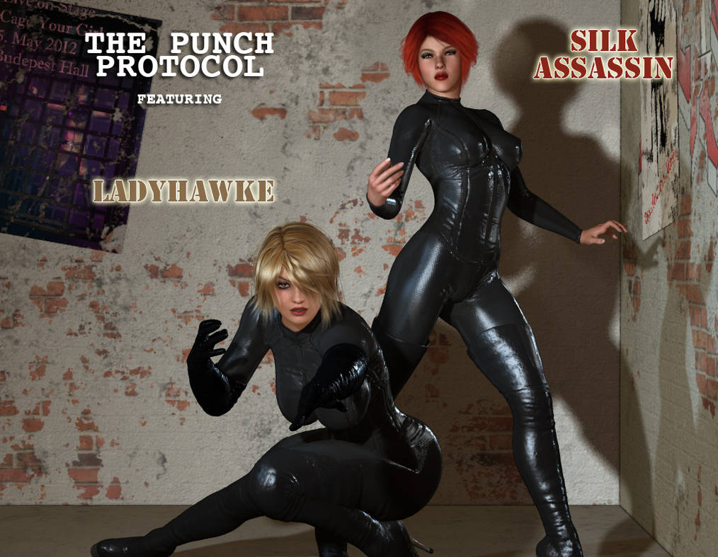 Ladyhawke and The Silk Assassin