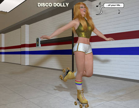 Disco Dolly Meets Her Next Opponent