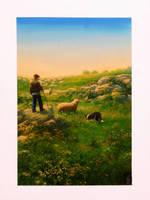 the shepherd boy by kantstanja