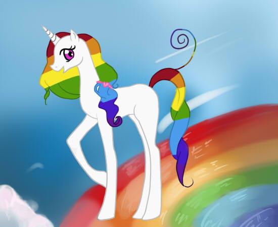 A unicorn by silentchild01