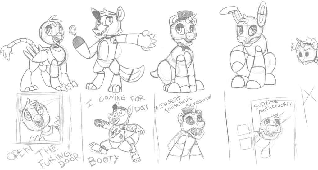 Fnaf All Animatronics