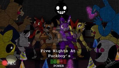FNAF: Five Nights At Fuckboy's cover