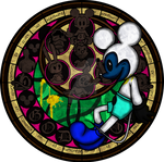 Fnati+KH: Abandoned by Disney Stained Glass
