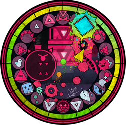 KH+JSaB Stained Glass: Corruption