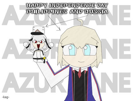 Pinoy-Russo Independence Day (Azur Lane Fanart)