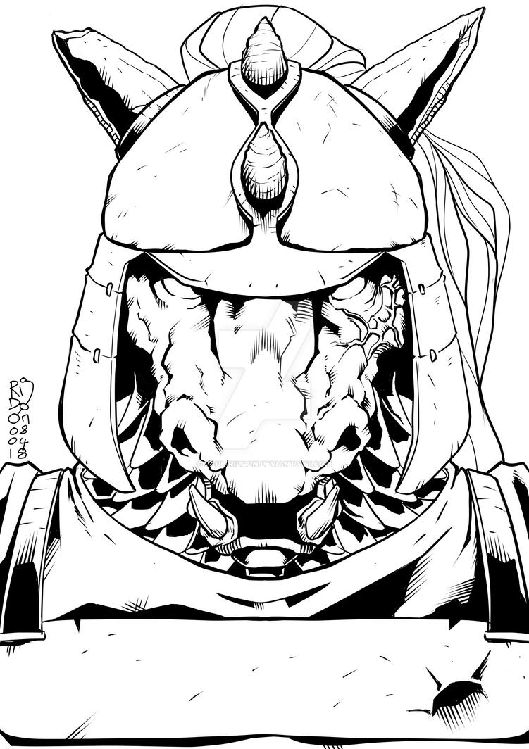 Sergeant Albius Lutvine by Paul-Ridgon