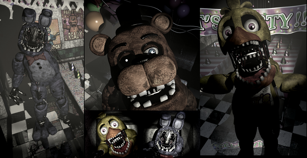 Fnaf 2 wallpper 3 by kaidou4 on deviantart