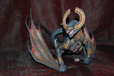 Kingdom Death: Monster - Dragon King 01 by SimonLasone