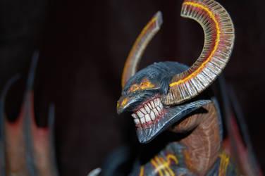Kingdom Death: Monster - Dragon King Head by SimonLasone