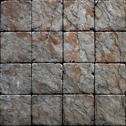 Grey-Red Dungeon Tiles by SimonLasone