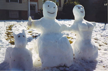 The Snowman Family Classic by Ultramanzeta