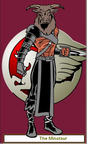 The Minotaur by Ultramanzeta
