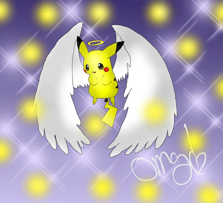 GAME OVER Angel_pikachu_by_monixsaku