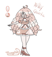 SU Fusion Milky Quartz by Thongchan