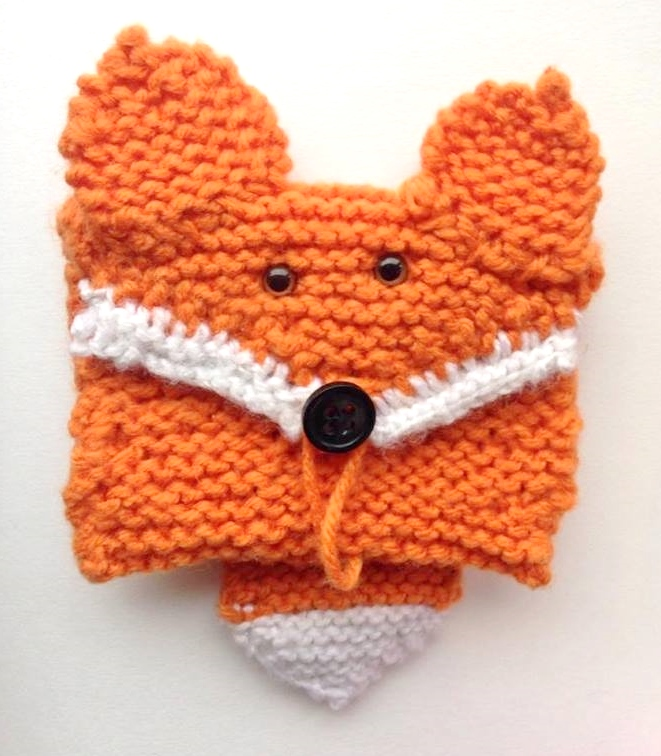 Knitted Fox Card Wallet By Alexostacchini On Deviantart