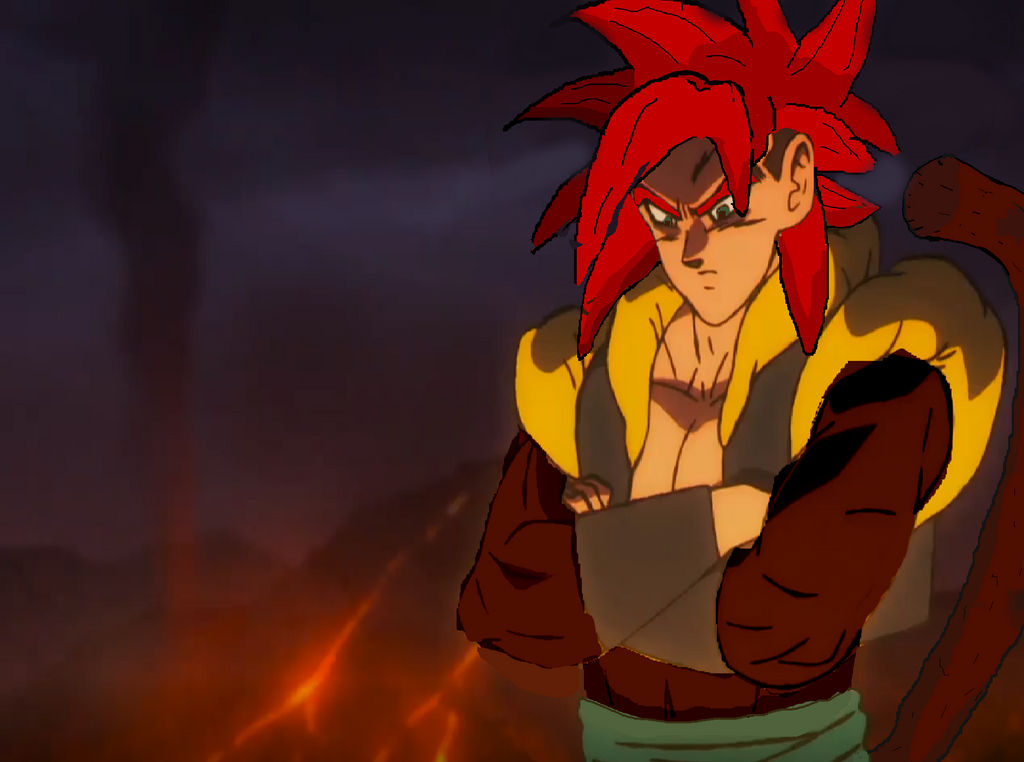 Ss4 Gogeta In Dbs Broly What If By Deaththeshadow On