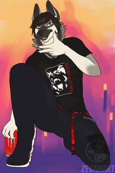 [YCH] Fashion Dog