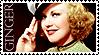 Ginger Rogers Stamp by Buraddo-Purasu