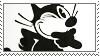 Felix the Cat Stamp by Buraddo-Purasu