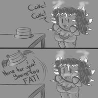 A True Demon Cake by TheEnglishGent
