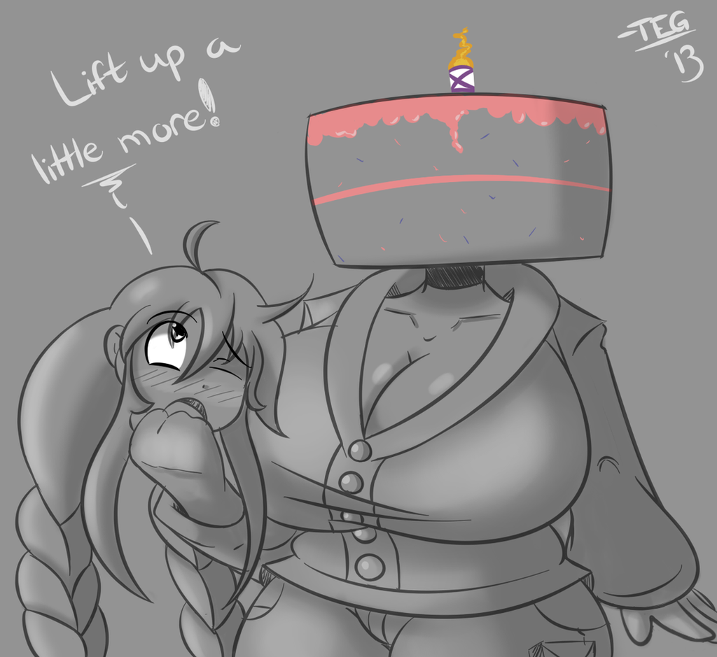 Head of Cake by TheEnglishGent